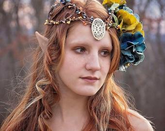 Fairy, faerie, circlet,pip berries, renaissance, elven, head piece