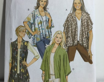 Butterick 5759 Fast & Easy Misses Jacket Sewing Pattern Size Large, XLarge, XXLarge
