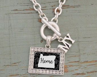 My Home Oregon Toggle Necklace - 57583OR
