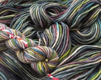 Dusk - dyed to order-sock 4ply superwash merino 100g 425 meters hand dyed yar