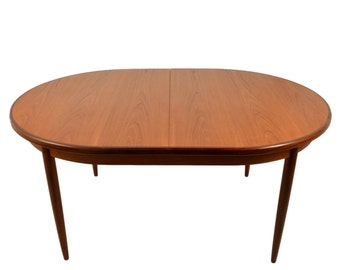 Mid Century Modern Extending Teak Dining Table By G PlanTeak dining table   Etsy. Mid Century Teak Dining Table And Chairs. Home Design Ideas