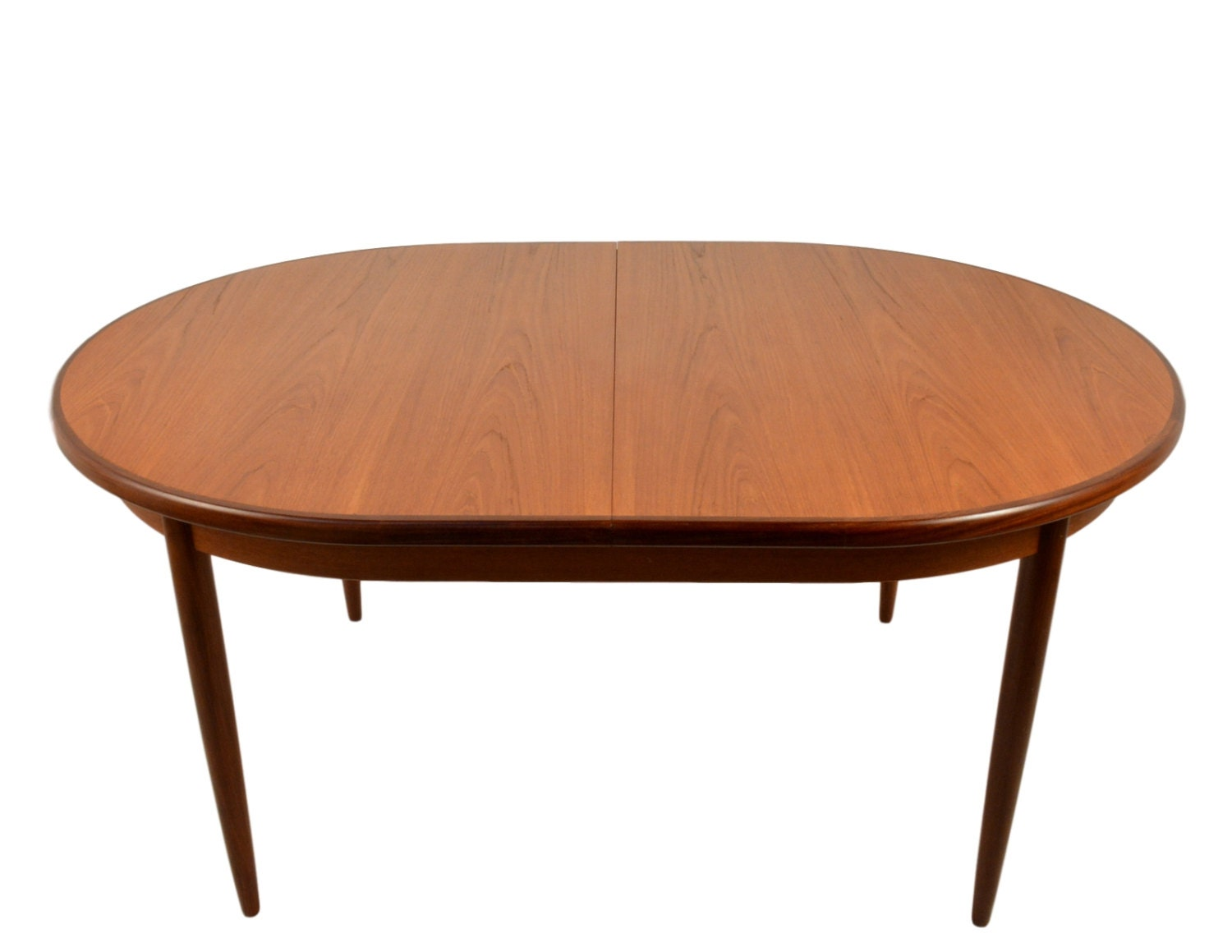 Modern Dining Table Plans: Mid Century Modern Extending Teak Dining Table By G Plan