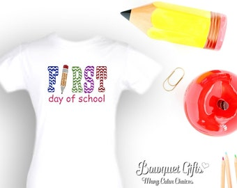 First day of school-tshirt-First Day-Tees
