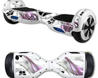 Skin Decal Wrap for Self Balancing Scooter Hoverboard unicycle Gray World