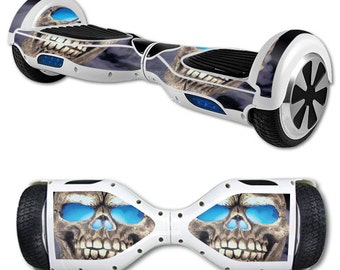 Skin Decal Wrap for Self Balancing Scooter Hoverboard unicycle Psycho Skull