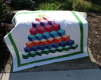 Baby Blocks Baby Quilt
