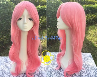 My Little Pony Fluttershy Cosplay Wig, Pink Color Friendship is Magic Costume Anime Party Wigs 219