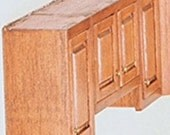 Dollhouse Miniatures 1:12 Scale UPPER CABINET Kit #HW13406-HW13407-HW13408
