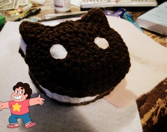 Steven Universe Inspired Cookie Cat Amigurumi Plushie, Great For Steven Universe Cosplay