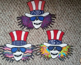 Uncle Sam Grateful Dead patch