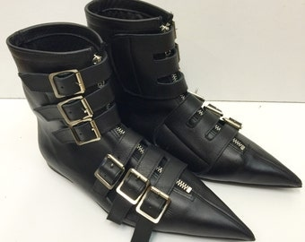 Original Pikes-6 Buckle Boots