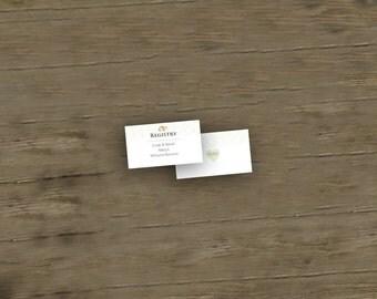 Garden Registry Card