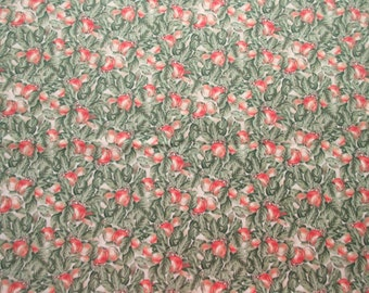 Fall Apples Fabric - Giordano Studios- Spectrix - OOP - Quilters Cotton - 1 Yard only