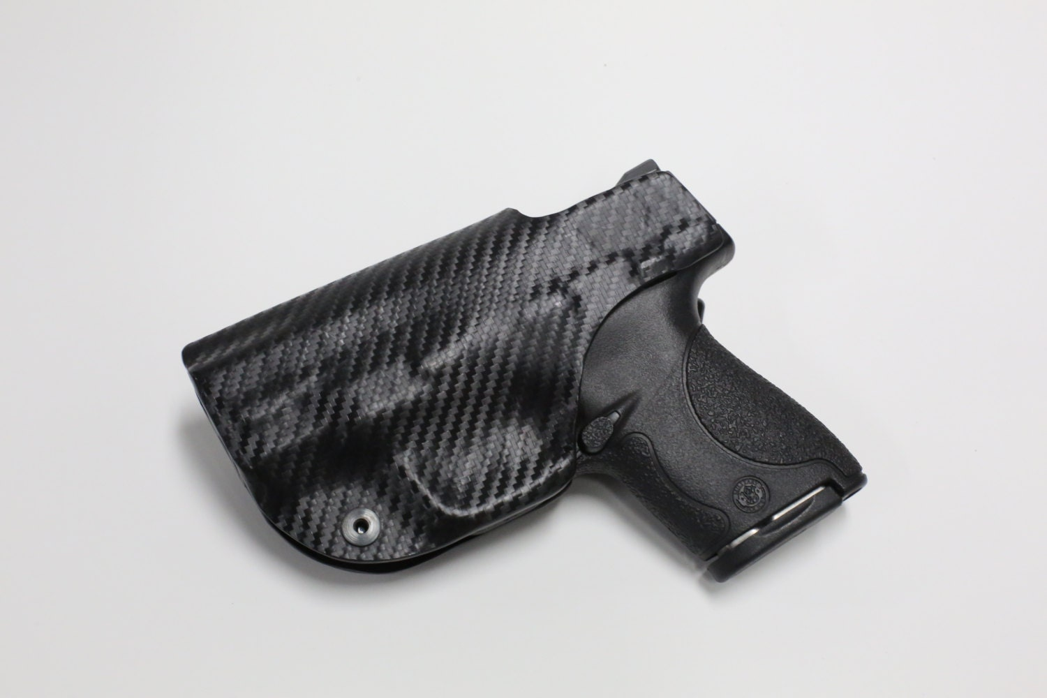 Glock model 43 w ct laser custom made black kydex carbon - Alienware concealed carry ...