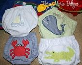 Waterproof Seersucker Swim Diaper Covers