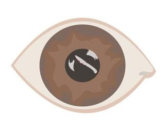 "Eye Witness 8""x10"" Print"