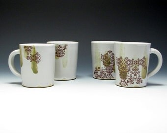 Mugs (set of 4) with Decals