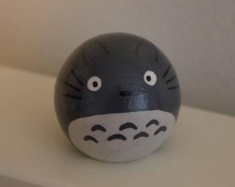 Totoro wooden peg friend