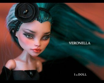 Monster High Repaint Art Doll OOAK –  Nefera de Nile | Veronella