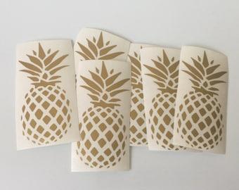 Pineapple decal
