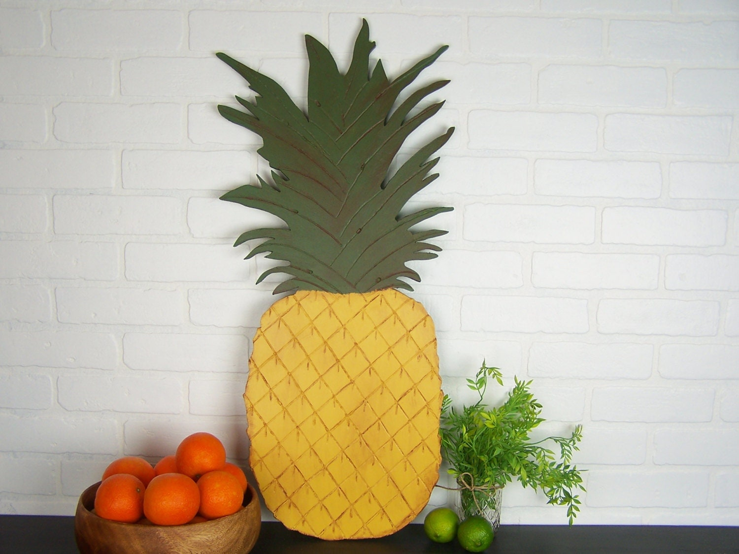 Pineapple decorations home 28 images pineapple home for Ananas dekoration