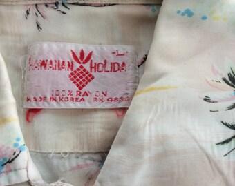 vintage hawaiian mens shirt
