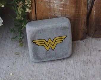 Wonder Woman Garden Stone