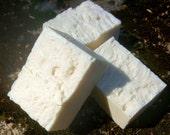 White Gardenia Handmade All Natural Soap with Bamboo Silk and Aloe Vera - Vegan