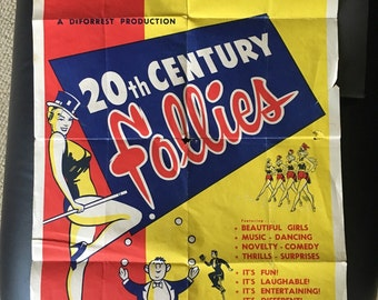 20th Century Follies at the Clay County Fair poster