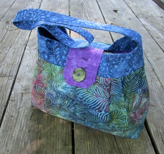 how to make handmade fabric purses