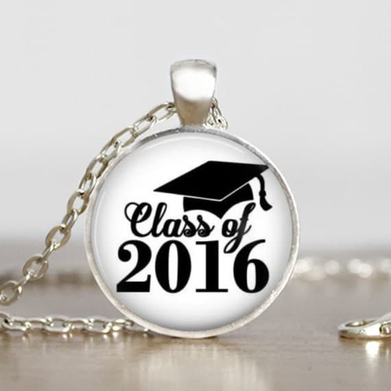 graduation class of 2016 pendant by dashglamour on etsy. Black Bedroom Furniture Sets. Home Design Ideas