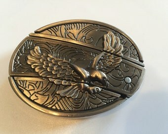 Eagle Belt Buckle with Knife included
