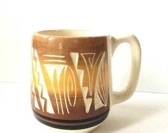 Vintage Navajo Style Mug