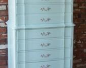 Turquoise / Aqua Dresser