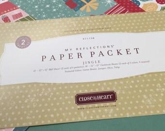 Jingle~CTMH~ X7115B~Close To My Heart Level 2 Scrapbooking Kit~Retired~New
