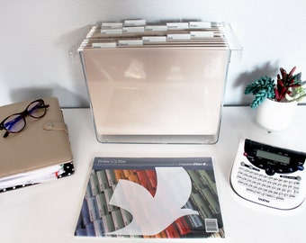 Complete Desktop Filing System w/Freedom Filer