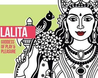 Lalita Altar Card