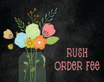 RUSH Order Fee - 12