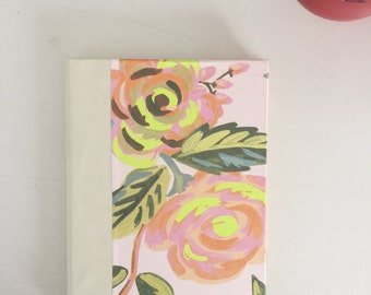 Neon Flower Address book, medium
