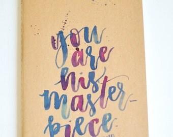 Custom Kraft Notebooks / Calligraphy / Handlettering / Moleskin / Libros Kraft Personalizados / Caligrafia