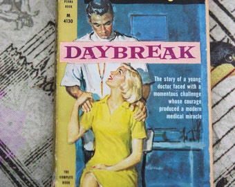 1960s Daybreak by Frank G. Slaughter cover art by James Meese Perma Book