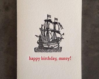 Happy Birthday, Matey!