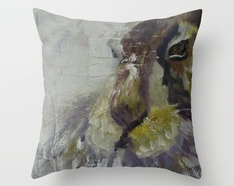 Rabbit 5 Pillow