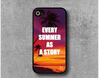 IPhone 4 / 4s Case Summer Sunset + Free Worldwide Delivery