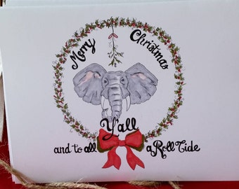 Alabama Christmas Notecard