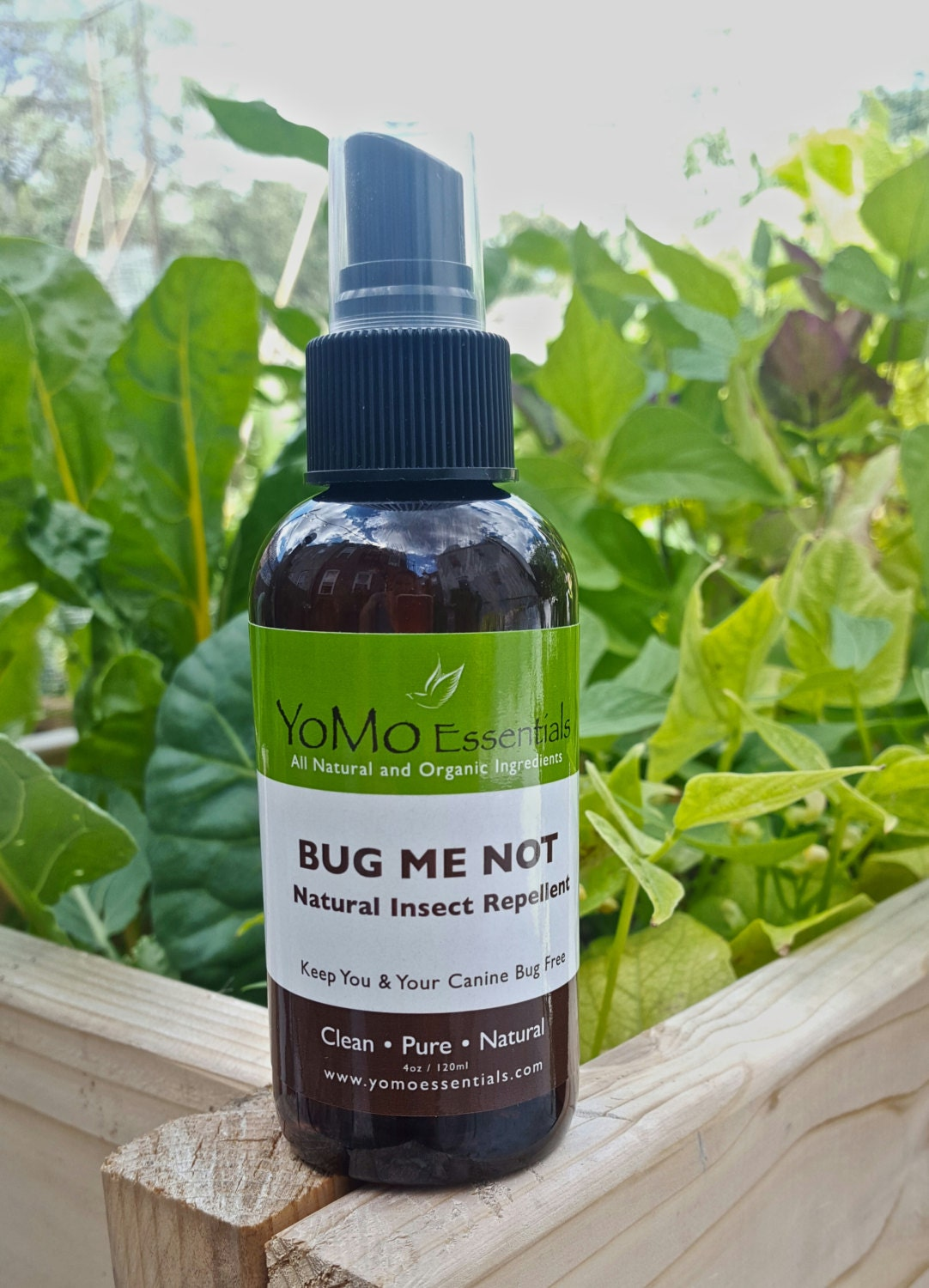 Bug Me Not Organic All Natural Insect Repellent For People