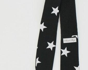 Black and White Stars Headband