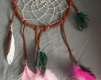 Dream Catcher 5 inch handmade one of a kind