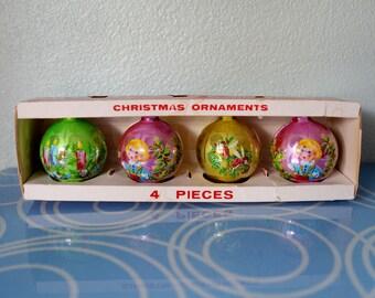 Vintage Plastic Ornaments