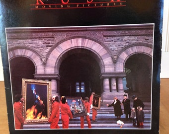 Rush, Moving Pictures. Record# SRM-1-4013. RL Etched In Dead Wax. Nice Clean Copy Of A Rush Masterpiece!